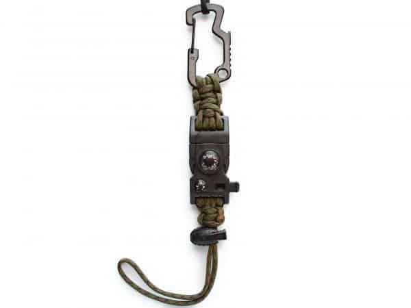 Sujetador de botella con broche Termómetro Color Pantano
