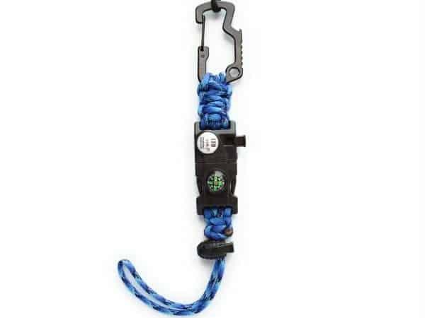 Sujetador de botella con broche Multiherramienta Color Azul Navy