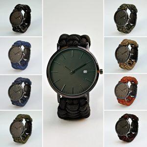 Reloj Elegant con extensible de Paracord